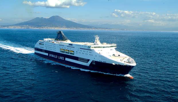 Vacanza sulla costa vicino Cefalù con nave Grimaldi da Salerno (9 giorni/7 notti)