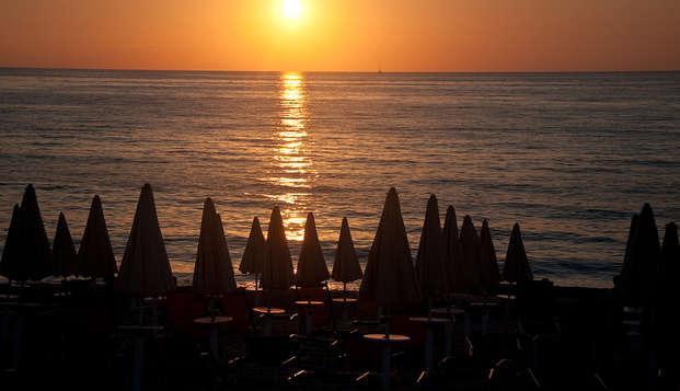 Romanticismo e poesia a un passo dalle spiagge di Rimini