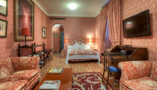 Escapada de lujo en un antiguo palacio convertido en hotel 5*