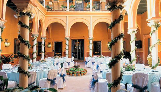Escapada con cena: Descubre un palacio del siglo XVI en Carmona