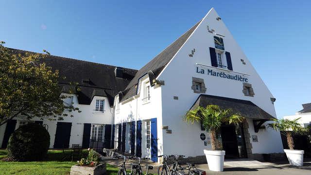 Week-end de charme avec panier gourmand breton au cœur de Vannes