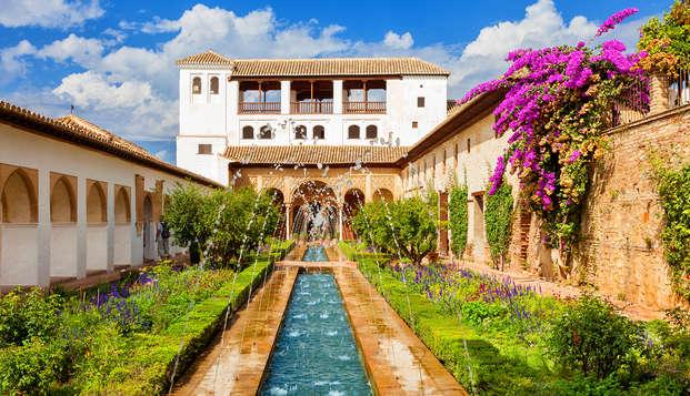 Escapada con desayuno en la capital del reino nazarí en un hotel 3*