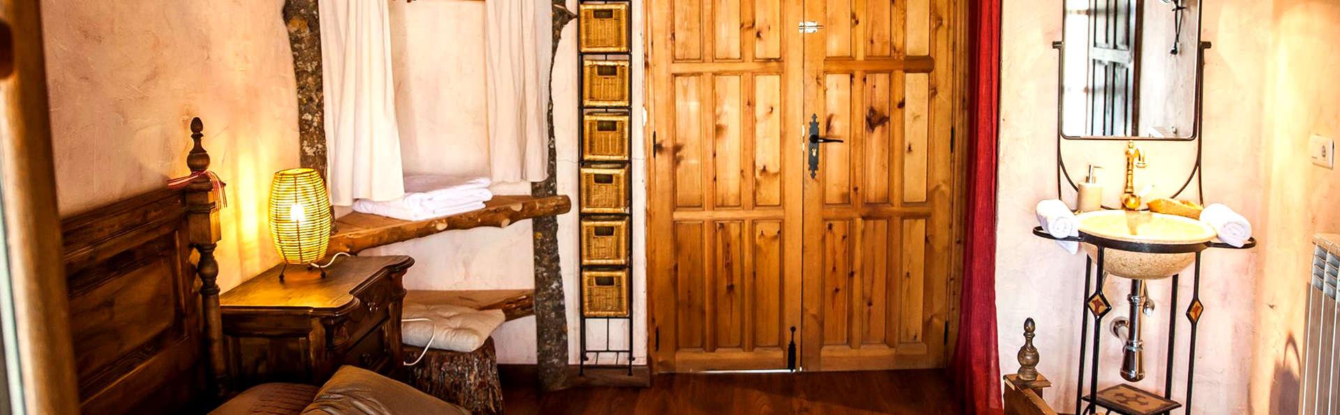 Escapade romantique avec accès au jacuzzi privé au milieu du parc naturel des Arribes