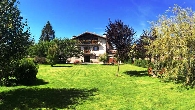 Escapada en una casa de campo restaurada del siglo XVII en pleno corazón de Navarra