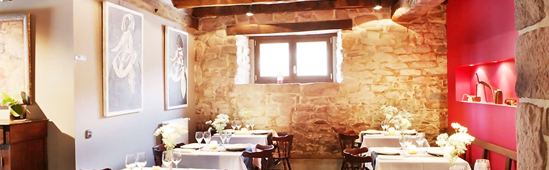 Gastronomie et romantisme dans la Vallée de Ulzama (2 nuits)