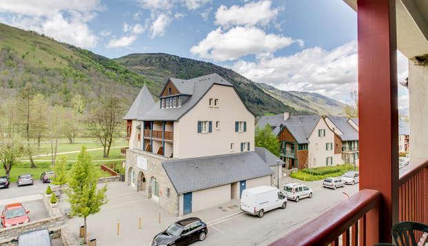 Estudio en un pueblo de los Pirineos, en Loudenvielle