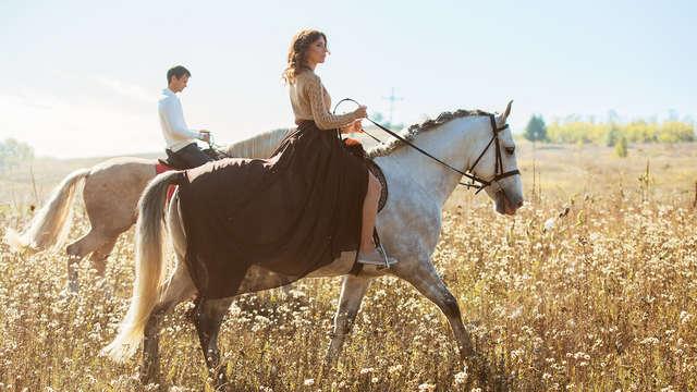 Enamorados al galope: descubre el maravilloso valle de Lecrín con paseo a caballo