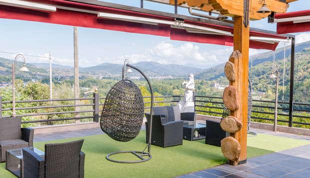 Escapada Romántica en habitación superior en pleno centro de la comarca de Valdeorras