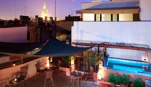 Corral del Rey - terrace