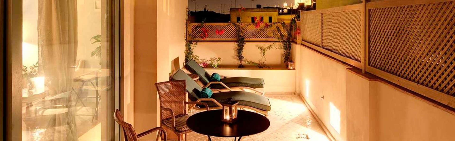Spécial terrasse: séjour au cœur de Séville et dégustation d'une délicieuse boisson