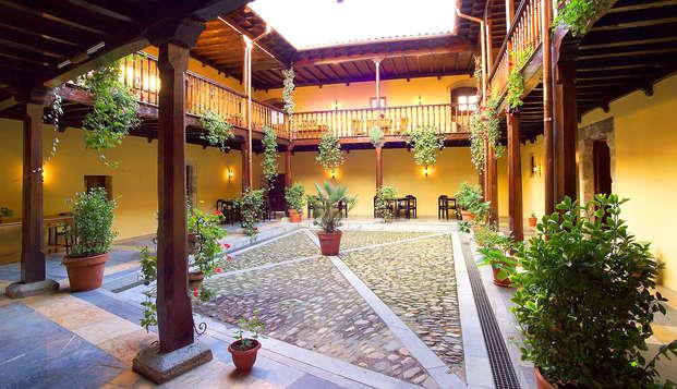 Escapada con encanto en un castillo medieval cerca del Parque Natural de Somiedo