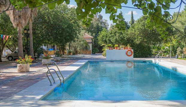 Escapada Rural con encanto en cortijo andaluz en tierra ganadera en Benalup