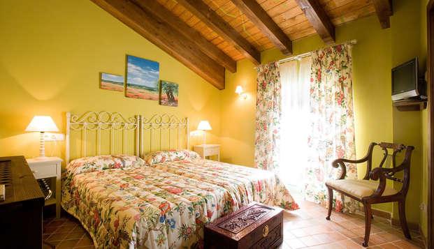 Escapada romántica en un hotel rural con mucho encanto en la región del Somontano
