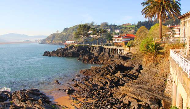 Escapada con desayuno incluido cerca de la playa de Mundaka y de San Juan de Gaztelugatxe