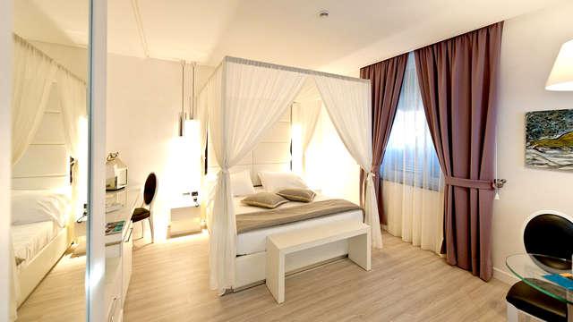 Weekend romantico in Junior Suite in un bellissimo hotel boutique