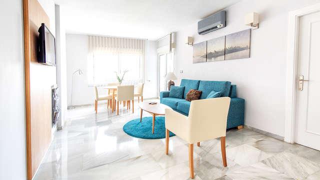 Escápate a Benalmádena costa en apartamento renovado al lado del mar