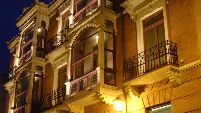 Escapada romántica con cena en el centro de Zamora