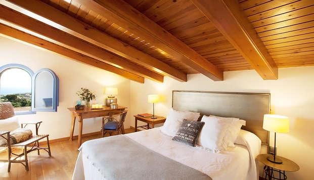 Atmósfera rústica en la Costa del Maresme en un hotel con encanto