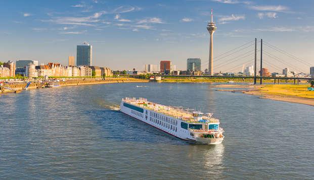Stap aan boord en maak een tocht door prachtig Düsseldorf