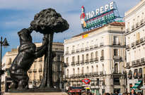 Estatua del Oso y el Madroño -