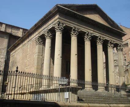Temple romà de Vic