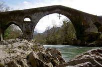 Puente romano de Cangas de Onís -