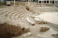 Teatro romano de Zaragoza -