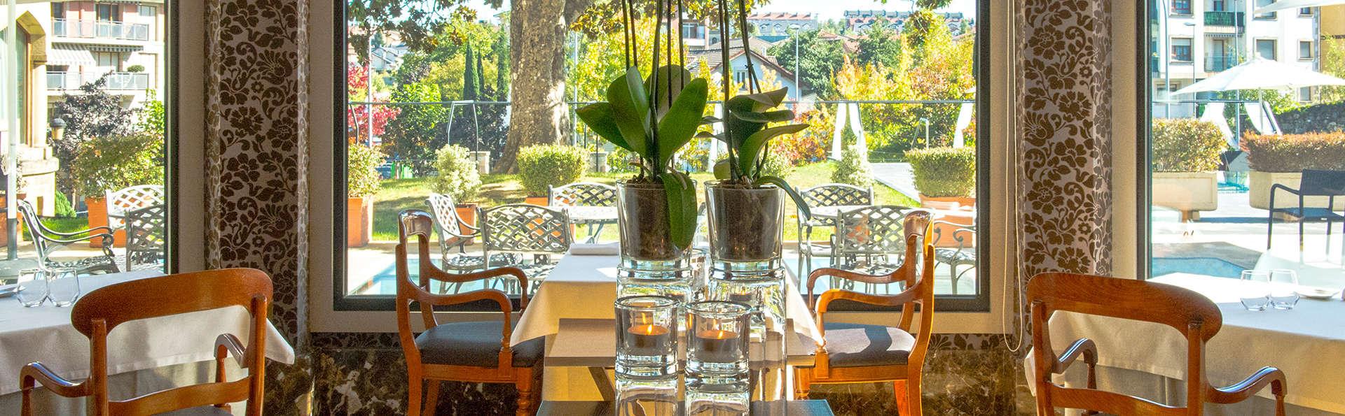 Escapade romantique avec dîner romantique à proximité du Parc naturel d'Urkiola