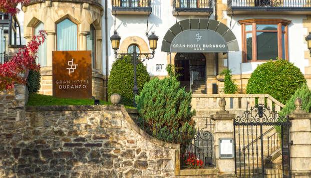 Gastronomía & Relax: Escapada en Durango con Cena Gastronómica y Spa (desde 2 noches)