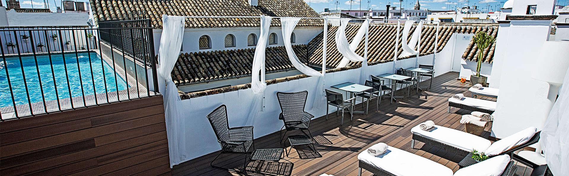 Evasion au coeur de Séville avec cocktail inclus sur la terrasse