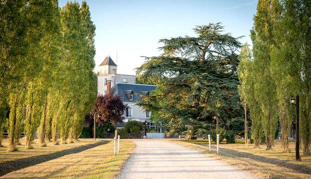 Séjour en chambre supérieure au cœur des châteaux de la Loire