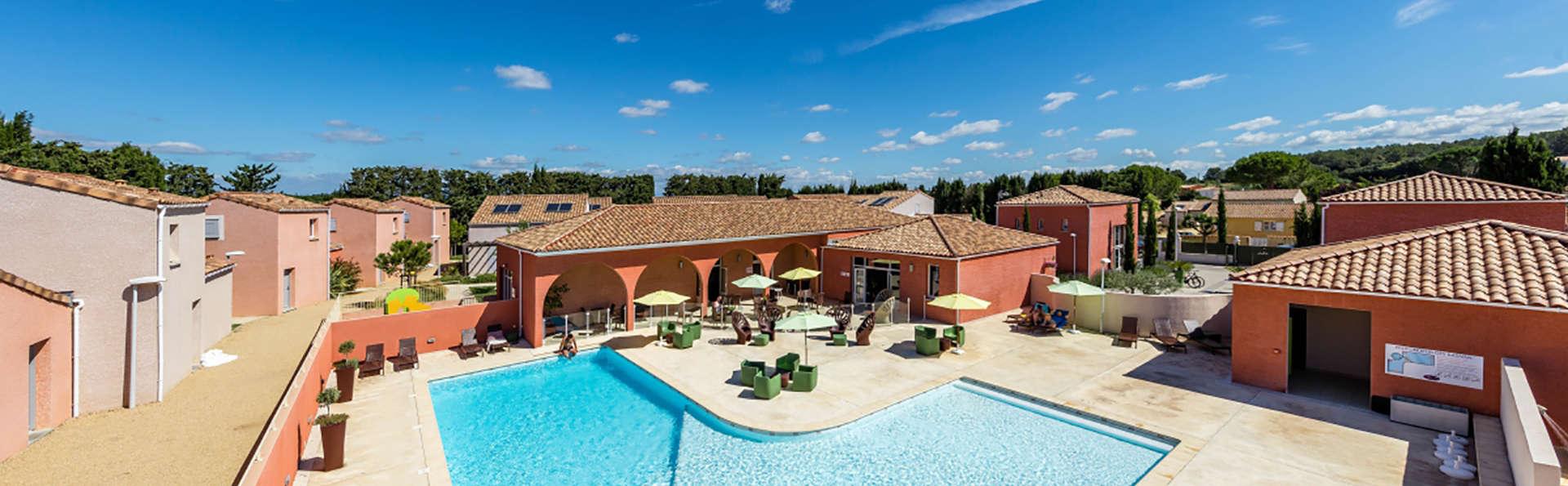 Détente et spa dans une villa à Saint-Christol