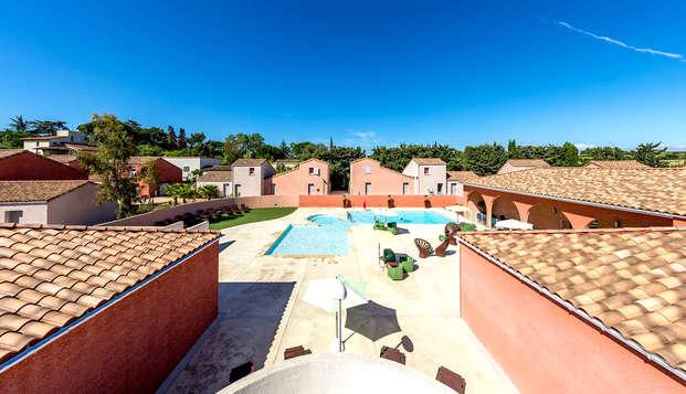 Villa confortable pour 4 personnes entre Nîmes et Montpellier