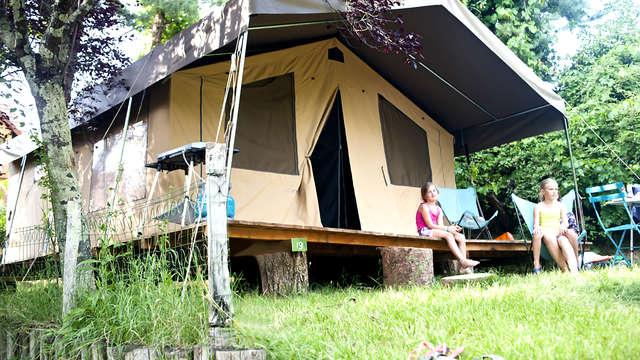 Expérience en famille dans une tente au cœur de la Loire (à partir de 2 nuits)