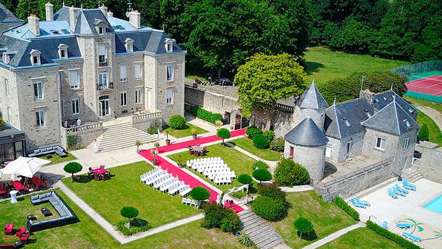 Escapade chic et romantique en Suite avec bain bouillonant privatif dans un manoir breton