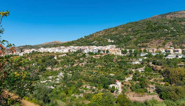 Escapada rural en el valle de Lanjarón con desayuno y botella de vino