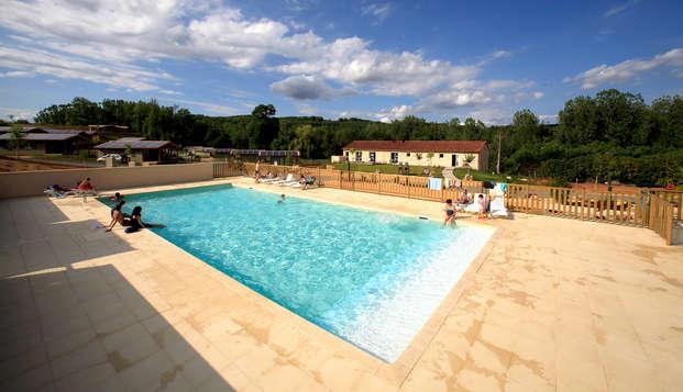 Nature et confort dans un cottage pour 4 entre le Lot et la Dordogne