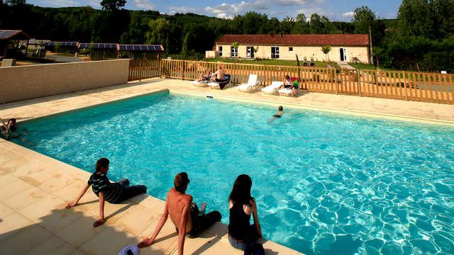 Pause rustique dans un cottage pour 2 entre le Lot et la Dordogne