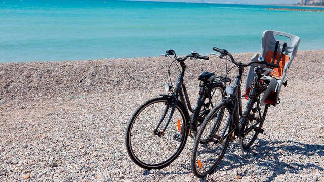 Paseo en bicicleta para 2 adultos