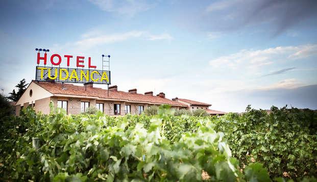 Escapada entre viñedos en Aranda de Duero en hotel con encanto