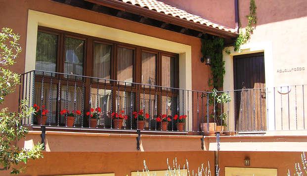 Escapada con tratamiento relax para liberar los Chakras en este hotelito en León