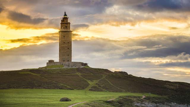 Oferta no reembolsable: Escapada en A Coruña con desayuno incluido