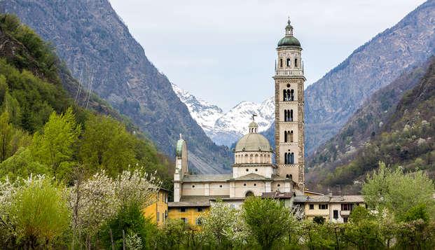 Séjour de charme à la frontière Suisse sur les rives de l'Adda