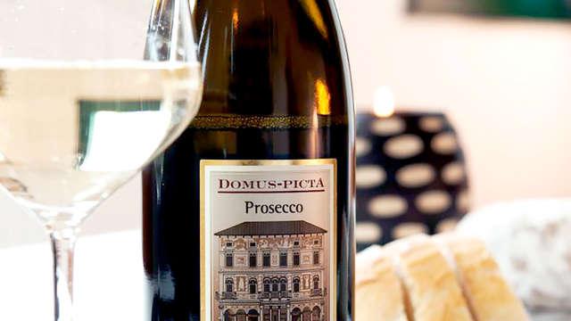 1 Mezza bottiglia di Prosecco