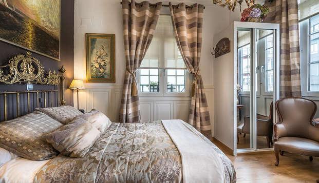 Escapada Romántica en habitación superior cerca de la playa de Santander