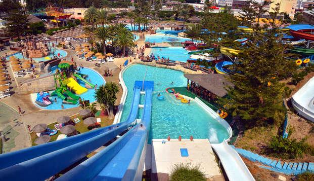 Donnez le sourire à vos enfants : billets pour le parc aquatique de Mijas et animation à l'hôtel
