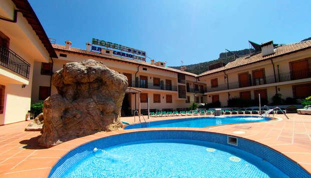 Scopri il Parco Naturale di Cazorla in questo hotel rurale 4*