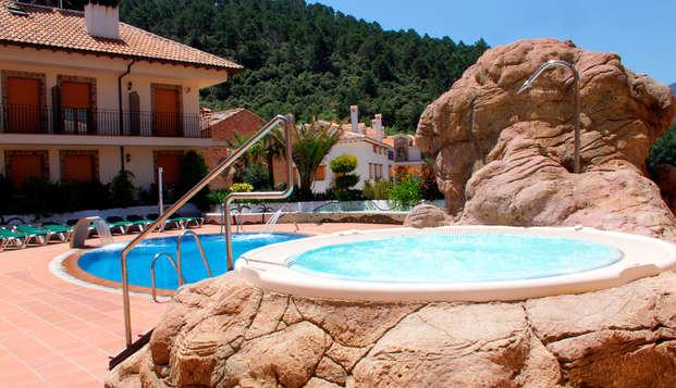 Minivacaciones en la Sierra de Cazorla en pensión completa con acceso al spa (desde 3 noches)