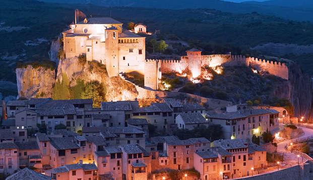 Cadre pittoresque et paysages époustouflants à Alquézar