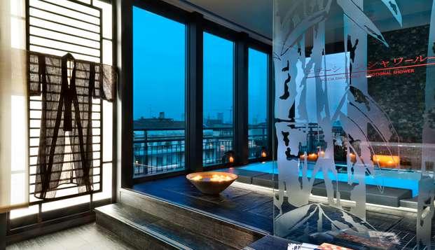 Notte e meravigliosa Spa panoramica: soggiorno relax a Milano!